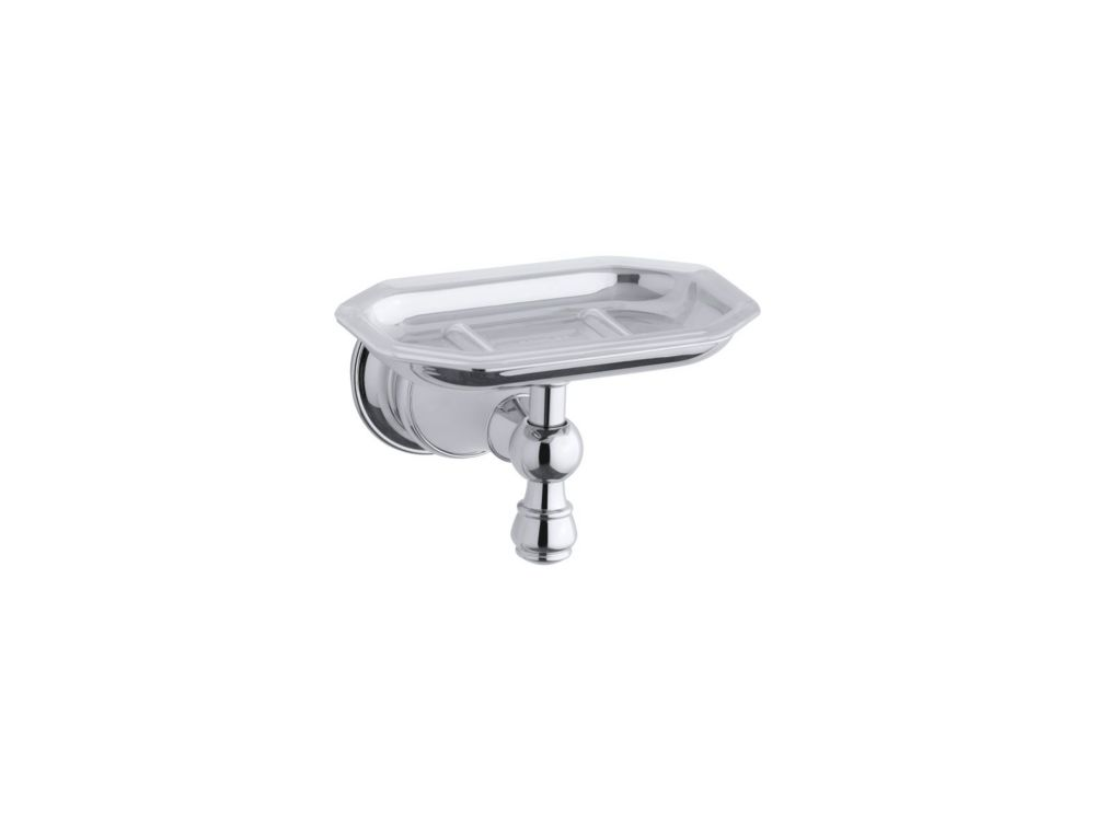 Revival Soap Dish in Polished Chrome