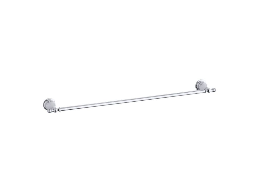 kohler revival 30 inch towel bar in polished chrome the home depot canada. Black Bedroom Furniture Sets. Home Design Ideas