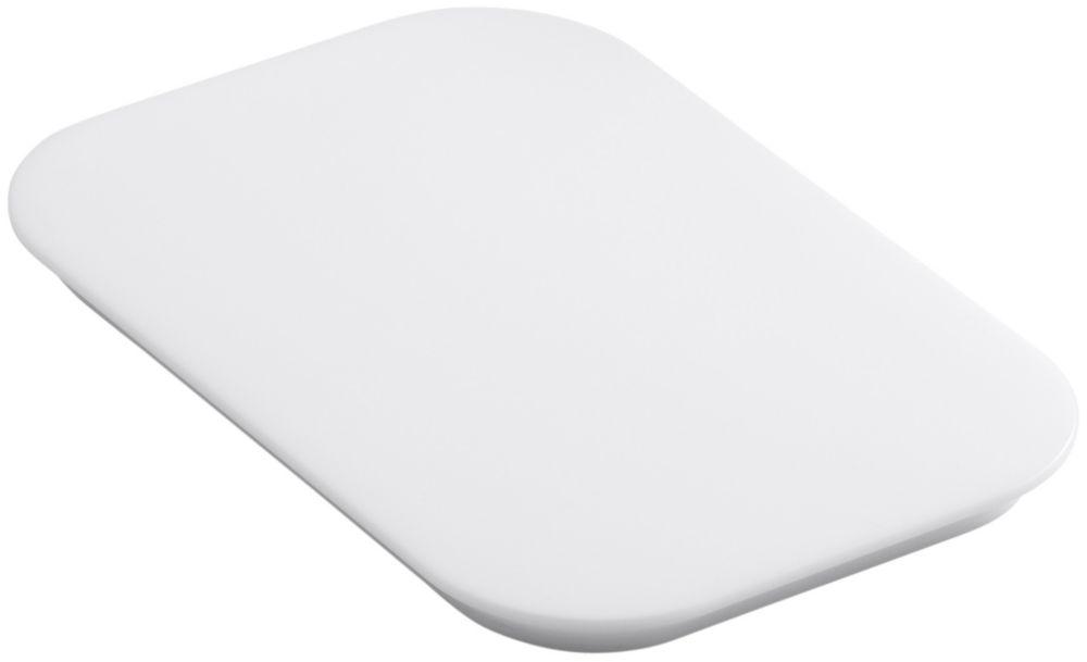 Bakersfield(Tm) Polyethylene Cutting Board in White