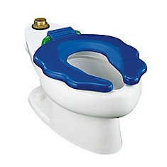 Primary Elongated Bowl Toilet in White