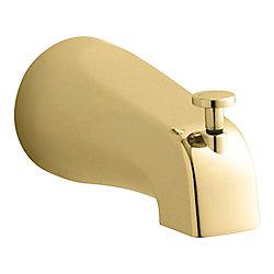 KOHLER Coralais(R) Diverter Bath Spout in Vibrant Polished Brass
