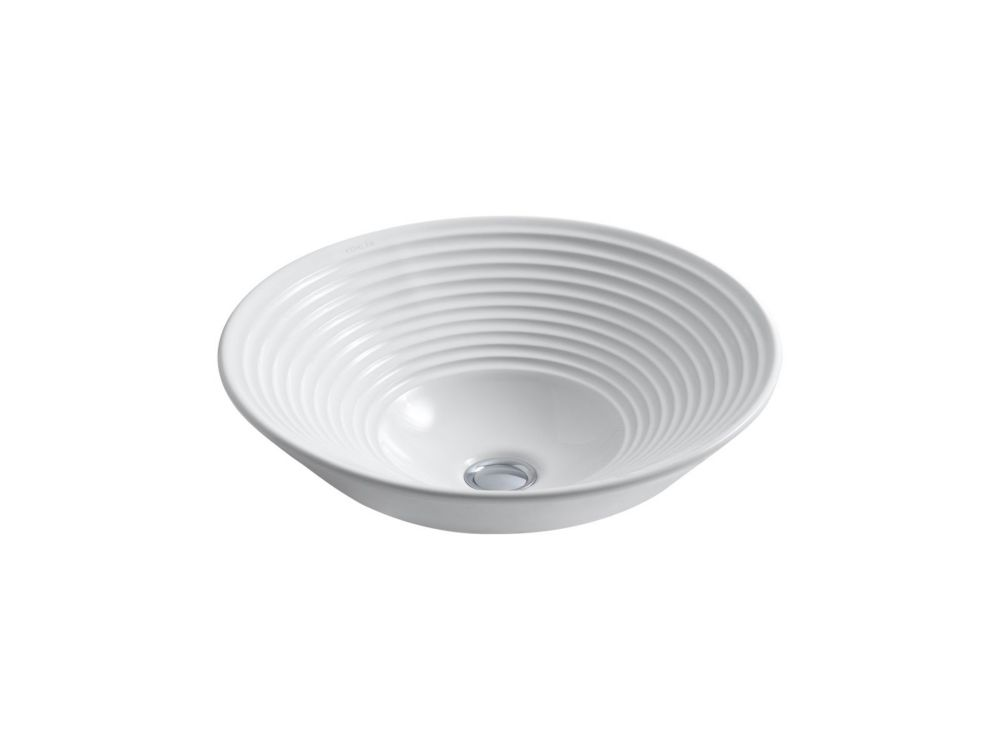 KOHLER Turnings(R) vessel bathroom sink