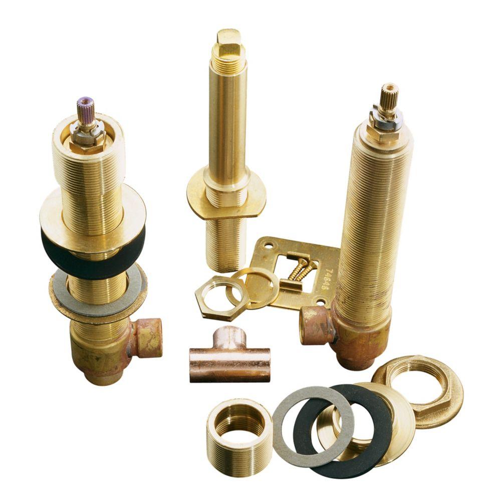 Système de valve high-flow 1/2 po