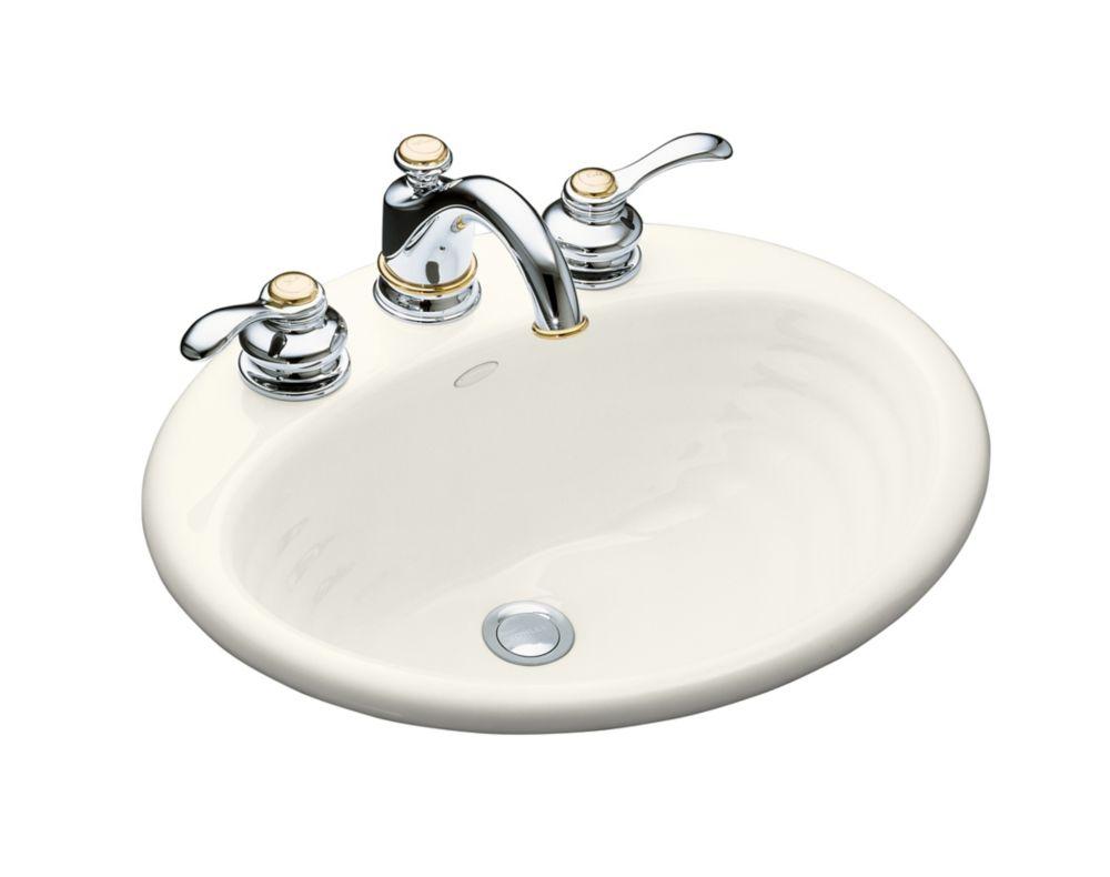 Ellington Self-Rimming Bathroom Sink in Biscuit