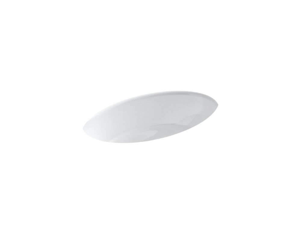 Thoreau Undercounter Bathroom Sink in White