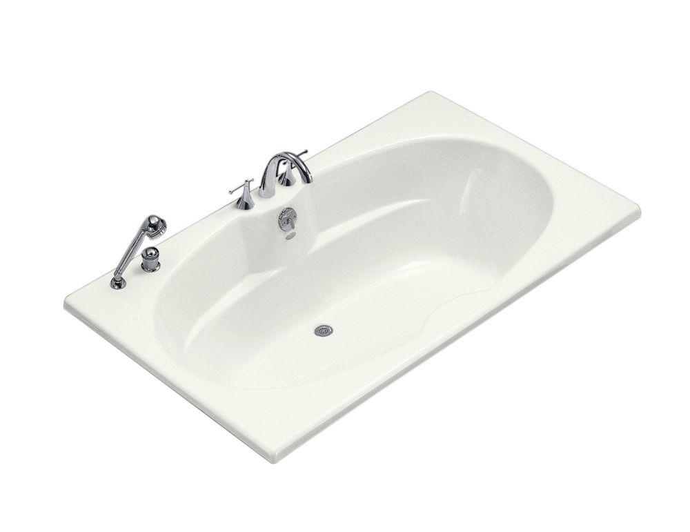 KOHLER 6 Feet Drop-in or Alcove Bathtub in White