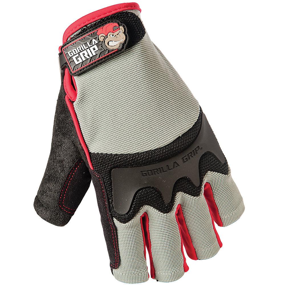 Gorilla Grip Fingerless Glove L