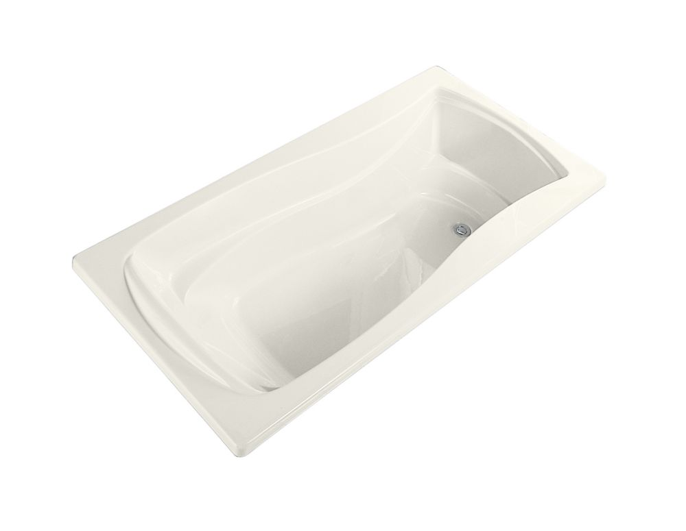 Mariposa 5 Feet Bathtub in Biscuit