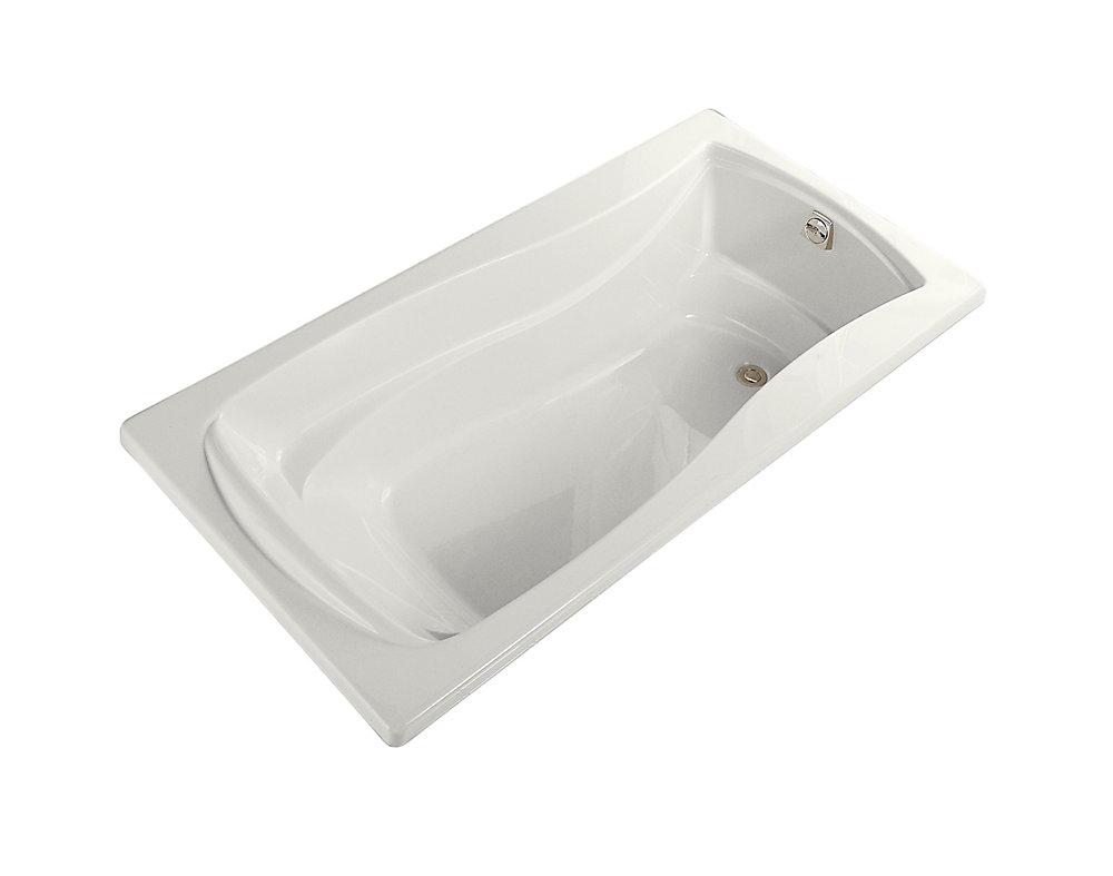"Mariposa(R) 72"" x 36"" drop-in bath with reversible drain"
