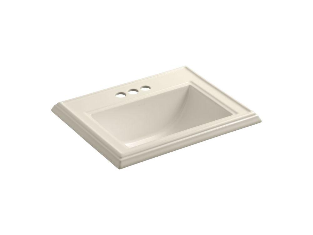 18 Inch Bathroom Sink : KOHLER Memoirs 22 3/4-inch L x 18-inch H Self-Rimming Bathroom Sink in ...