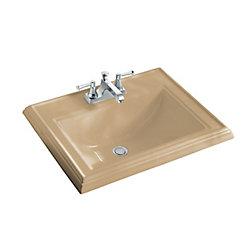 KOHLER Memoirs 22 3/4-inch L x 18-inch H Self-Rimming Bathroom Sink in Mexican Sand