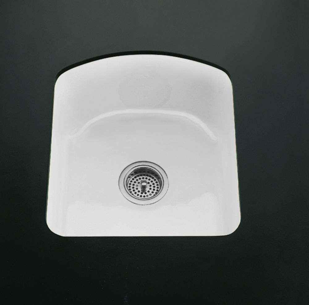 Napa(Tm) Undercounter Entertainment Sink in White K-5848-2U-0 Canada Discount