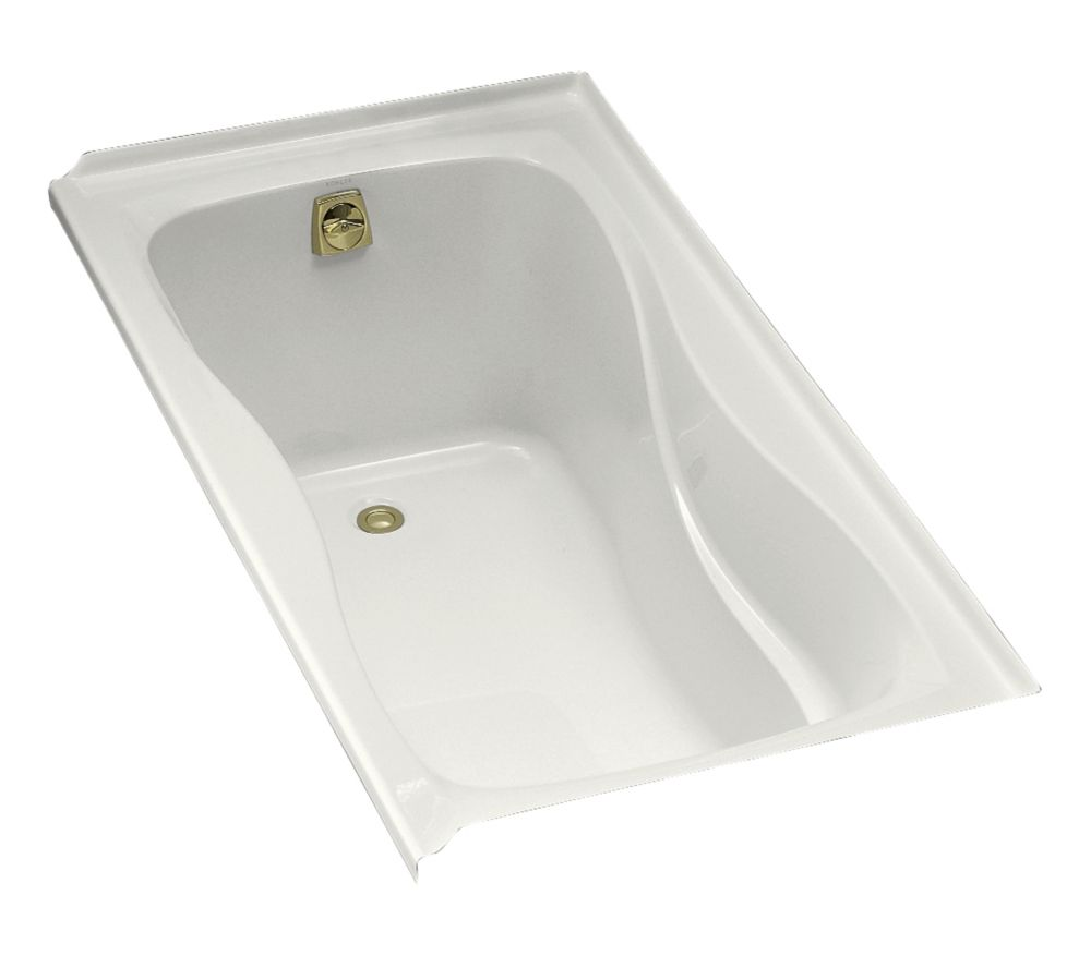 Hourglass 32 5 Feet Acrylic Bathtub in White
