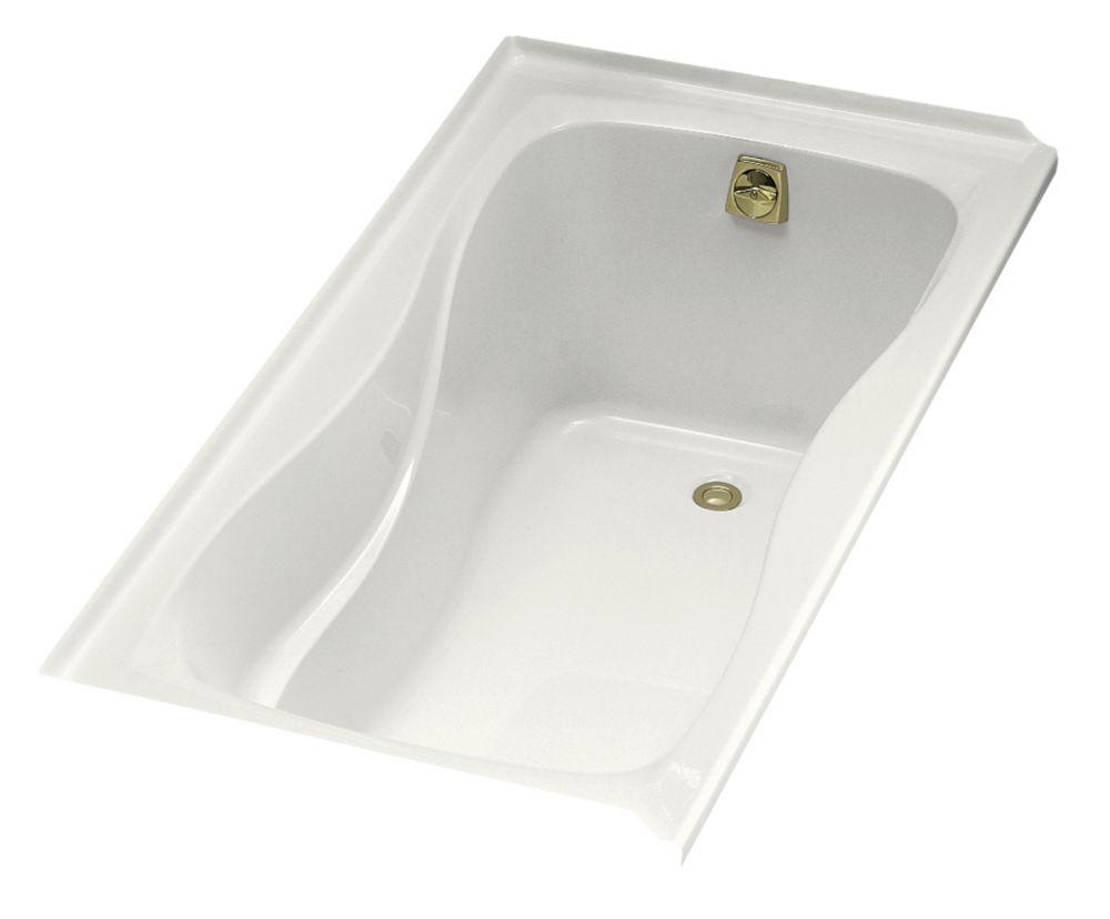 KOHLER Hourglass 32 5 Feet Acrylic Bathtub in White