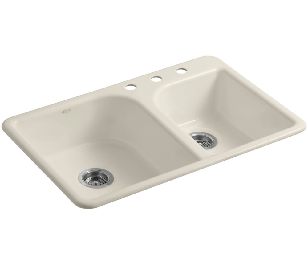 Kohler Hartland Tm Self Rimming Kitchen Sink With Four