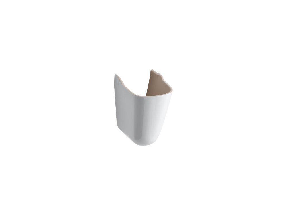 KOHLER Pinoir Lavatory Shroud in White