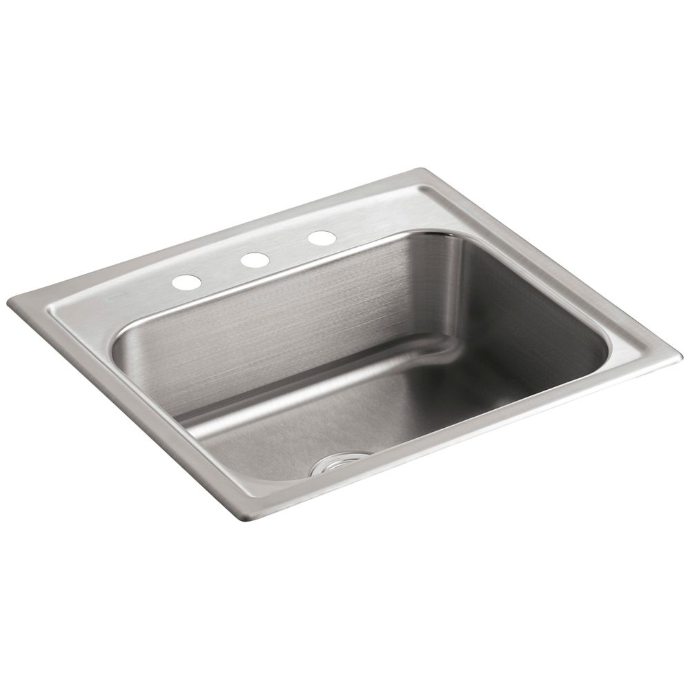 Toccata(Tm) Single-Basin Self-Rimming Kitchen Sink K-3348-3-NA in Canada
