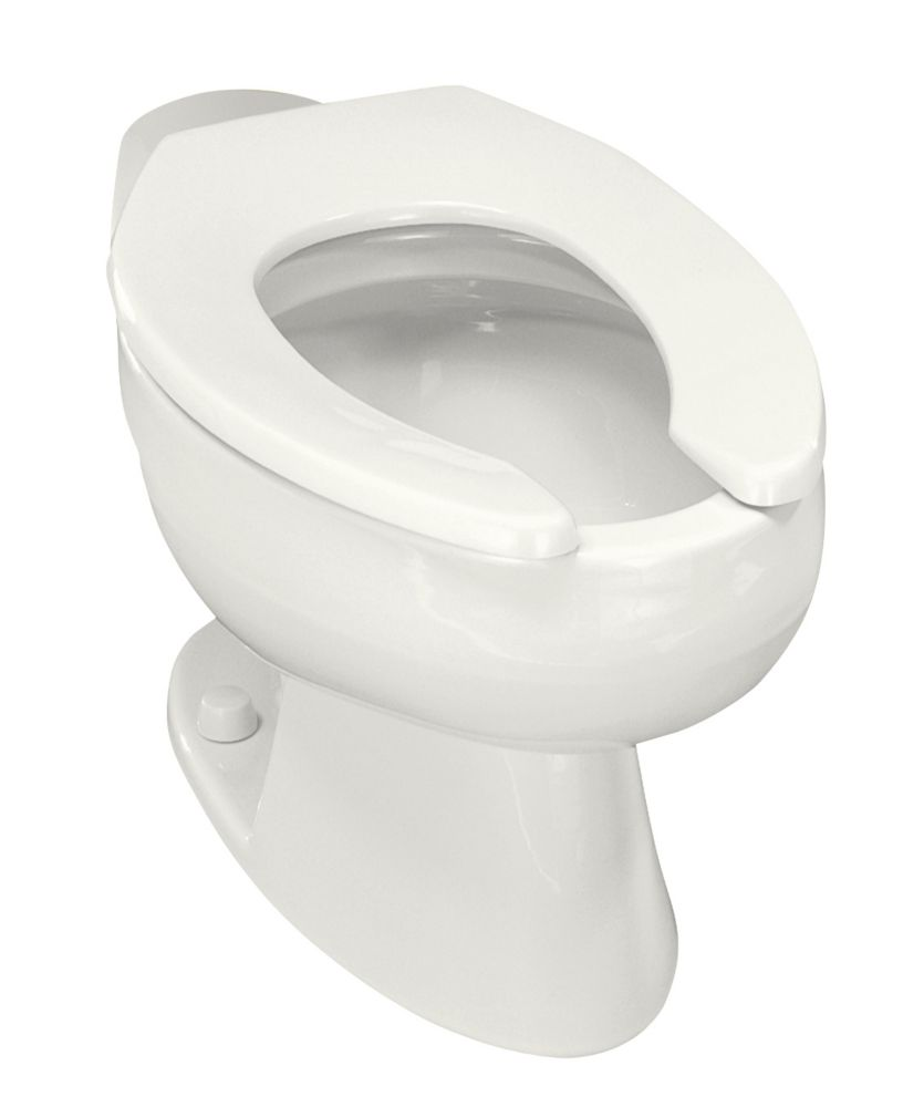 Wellcomme� Elongated Toilet Bowl Only in White