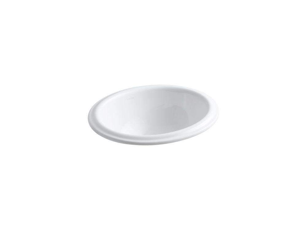 Lavabo à rebord intégré Intaglio(R)