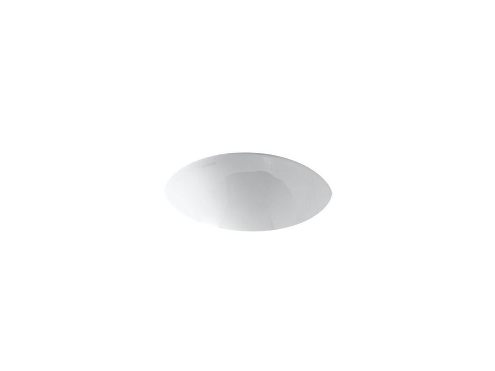 Lavabo à rebord intégré/sous comptoir Compass(TM)