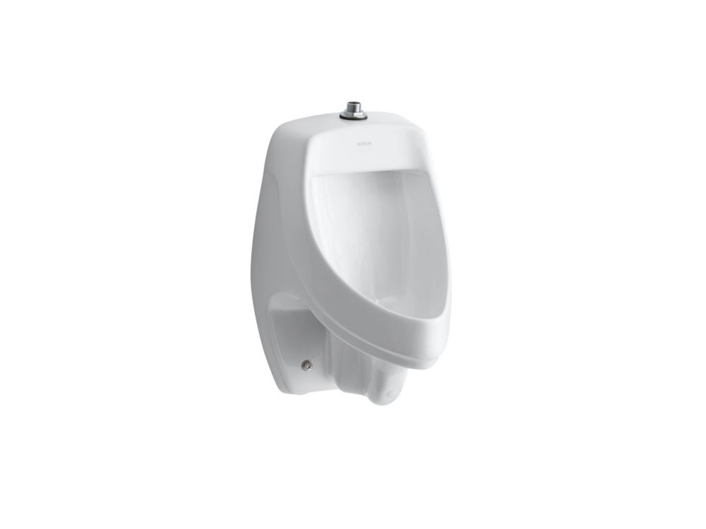 KOHLER Dexter(Tm) Elongated Urinal in White