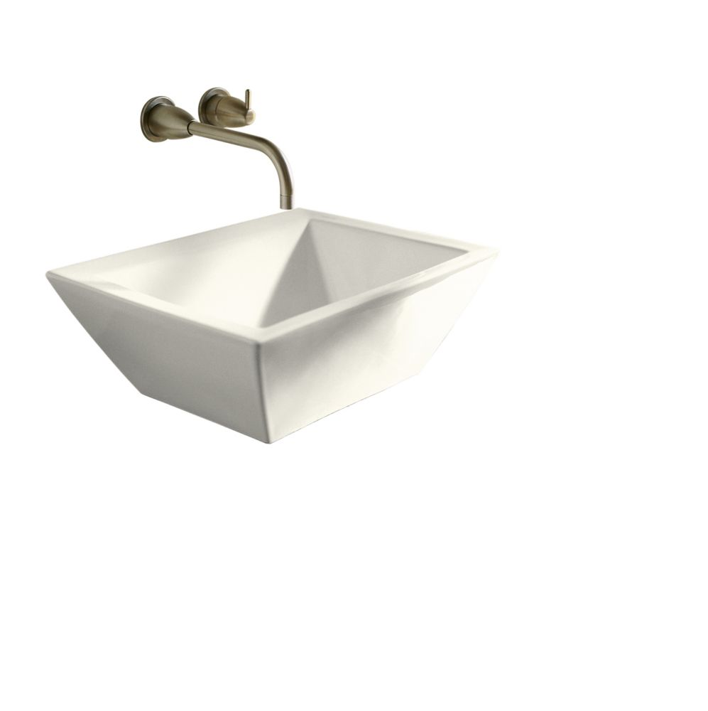 KOHLER Bateau Vessel Sink in Biscuit