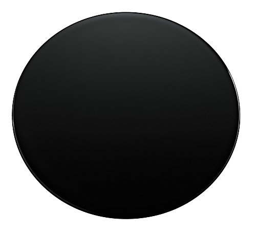 Sink Hole Cover In Black