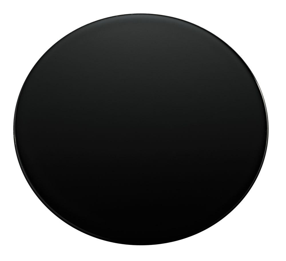 KOHLER Sink Hole Cover in Black Black