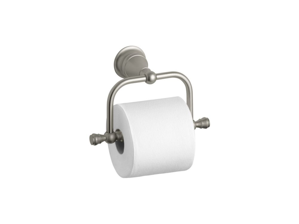 Revival Toilet Tissue Holder in Vibrant Brushed Nickel