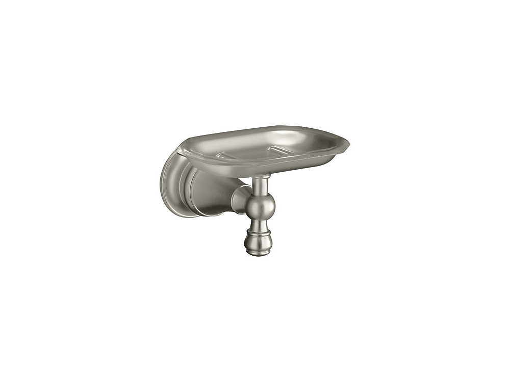 Revival Soap Dish in Vibrant Brushed Nickel
