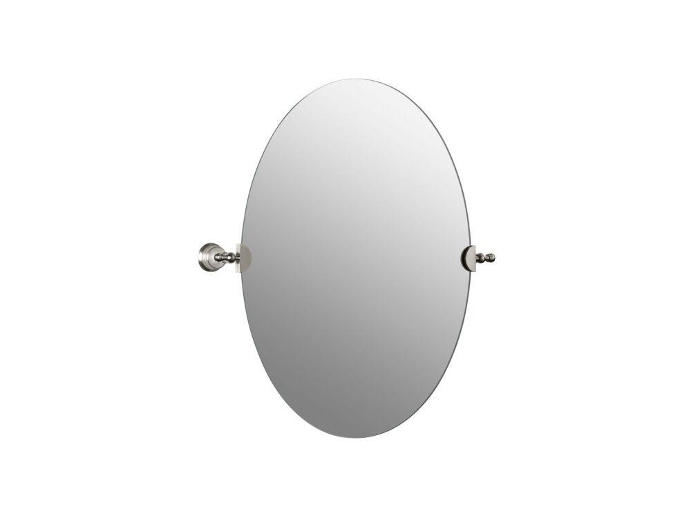 KOHLER Revival Oval Mirror in Vibrant Brushed Nickel