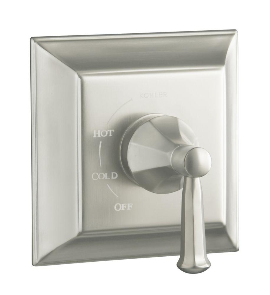 Garniture de valve à régulation de pression Memoirs(R) Rite-Temp(TM) avec désign Stately et poign...