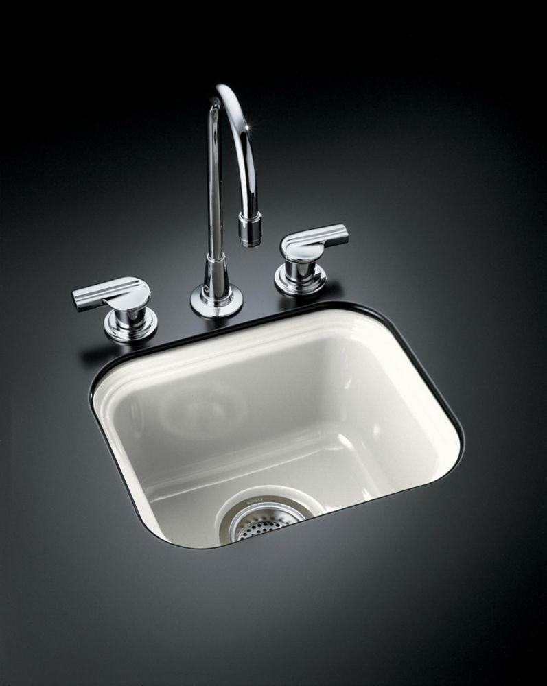 Northland(Tm) Undercounter Entertainment Sink in White K-6589-U-0 in Canada