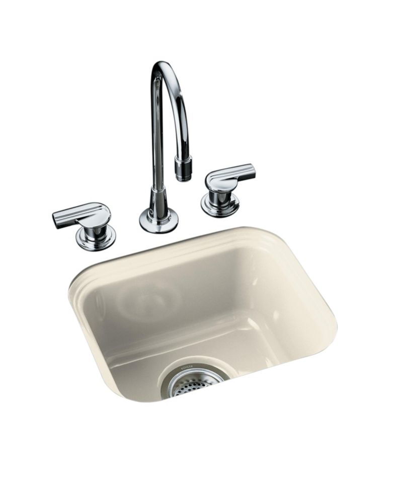 Northland(Tm) Undercounter Entertainment Sink in Almond