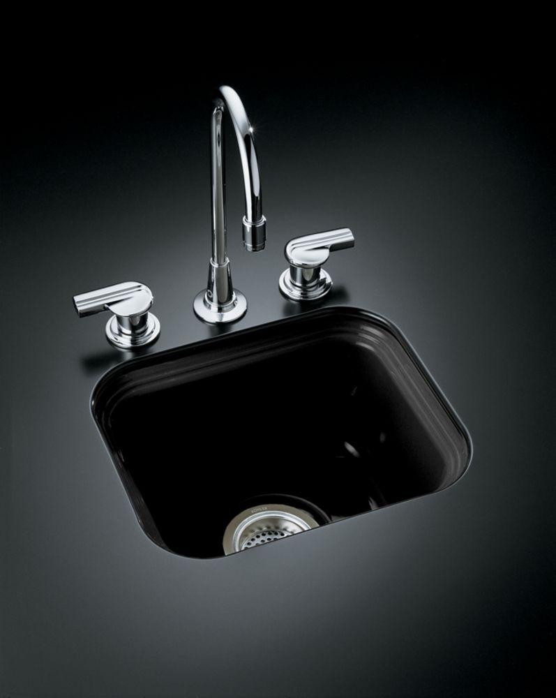 Northland(Tm) Undercounter Entertainment Sink in Black Black