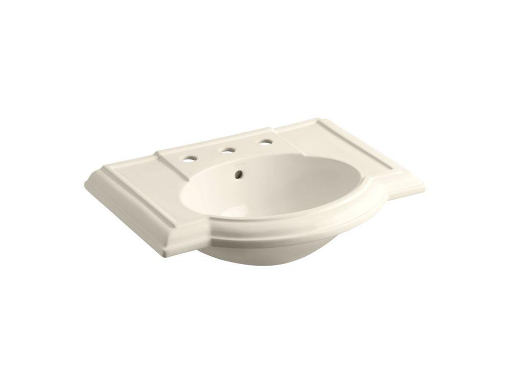 Bassin de lavabo Devonshire(R) avec centres de 8 po