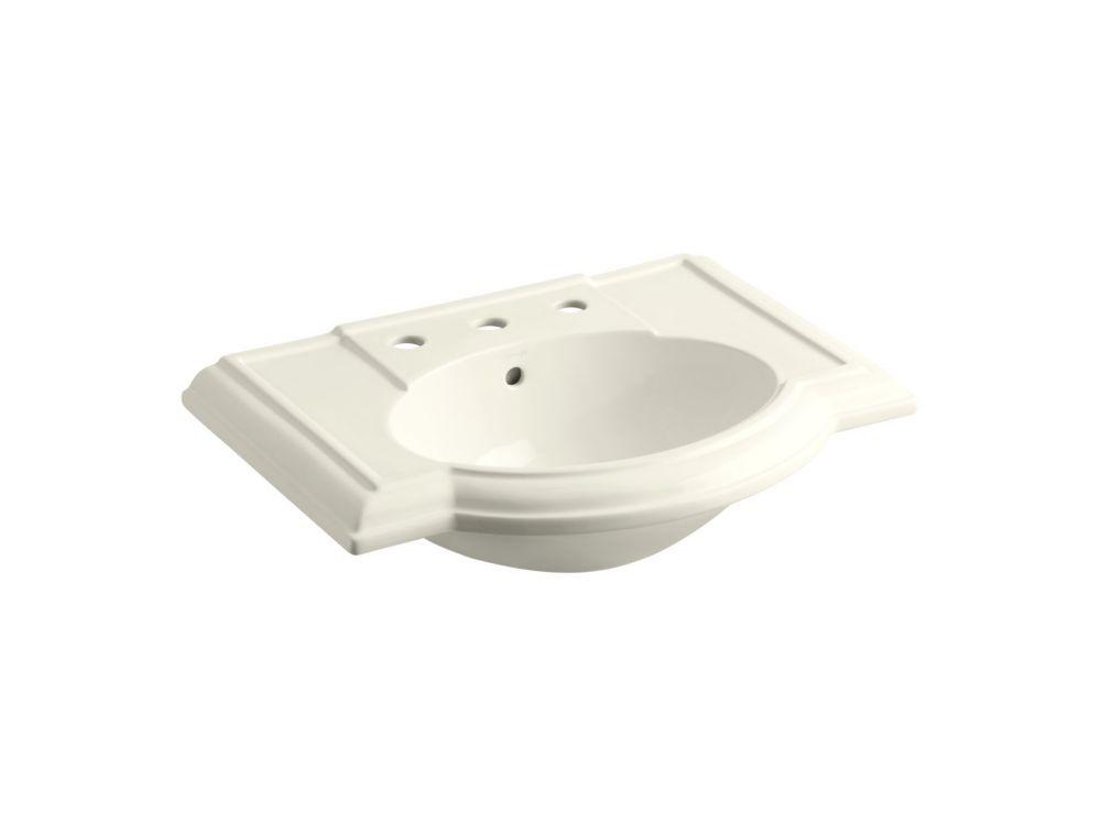 Devonshire Bathroom Sink Basin in Biscuit