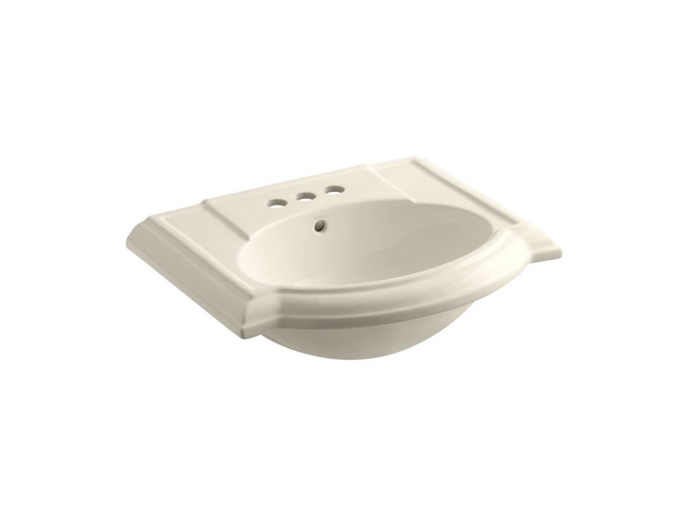 Devonshire Bathroom Sink Basin in Almond