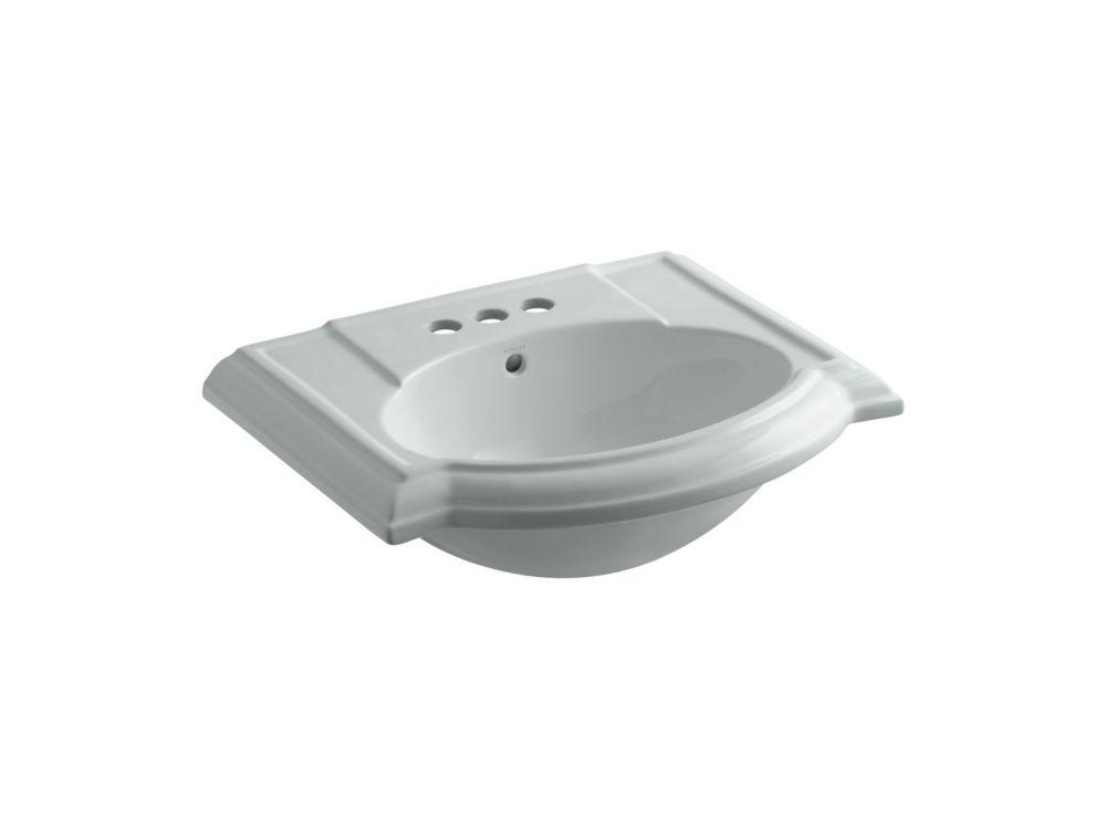 Devonshire Bathroom Sink Basin in Ice Grey