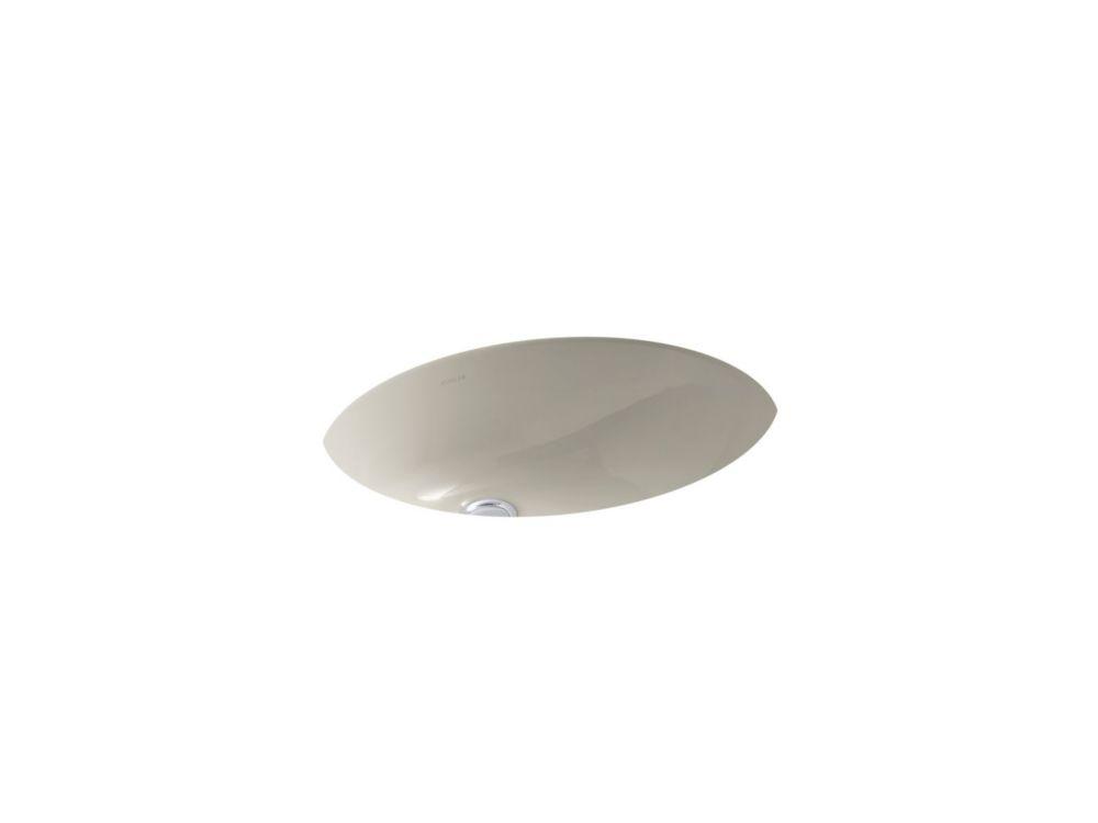 Caxton 19 1/4-inch L x 16 1/4-inch W Undercounter Bathroom Sink in Sandbar