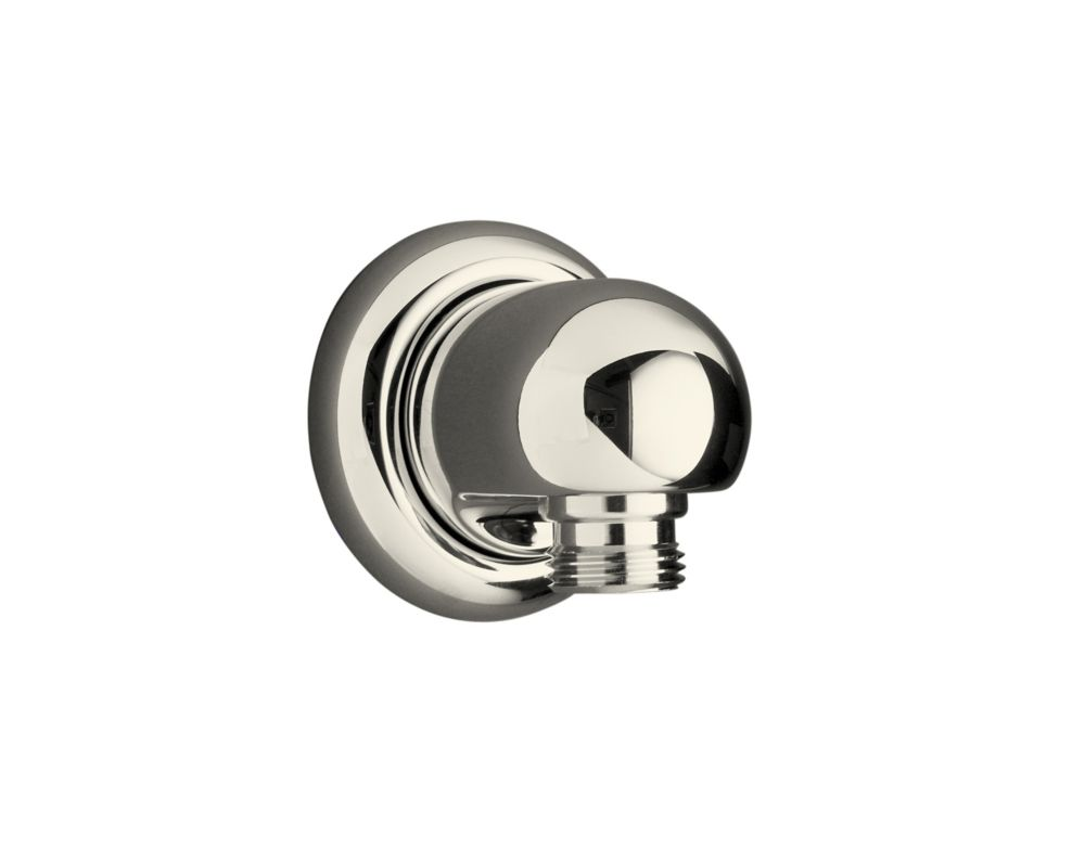 Mastershower Wall Supply Elbow in Vibrant Polished Nickel