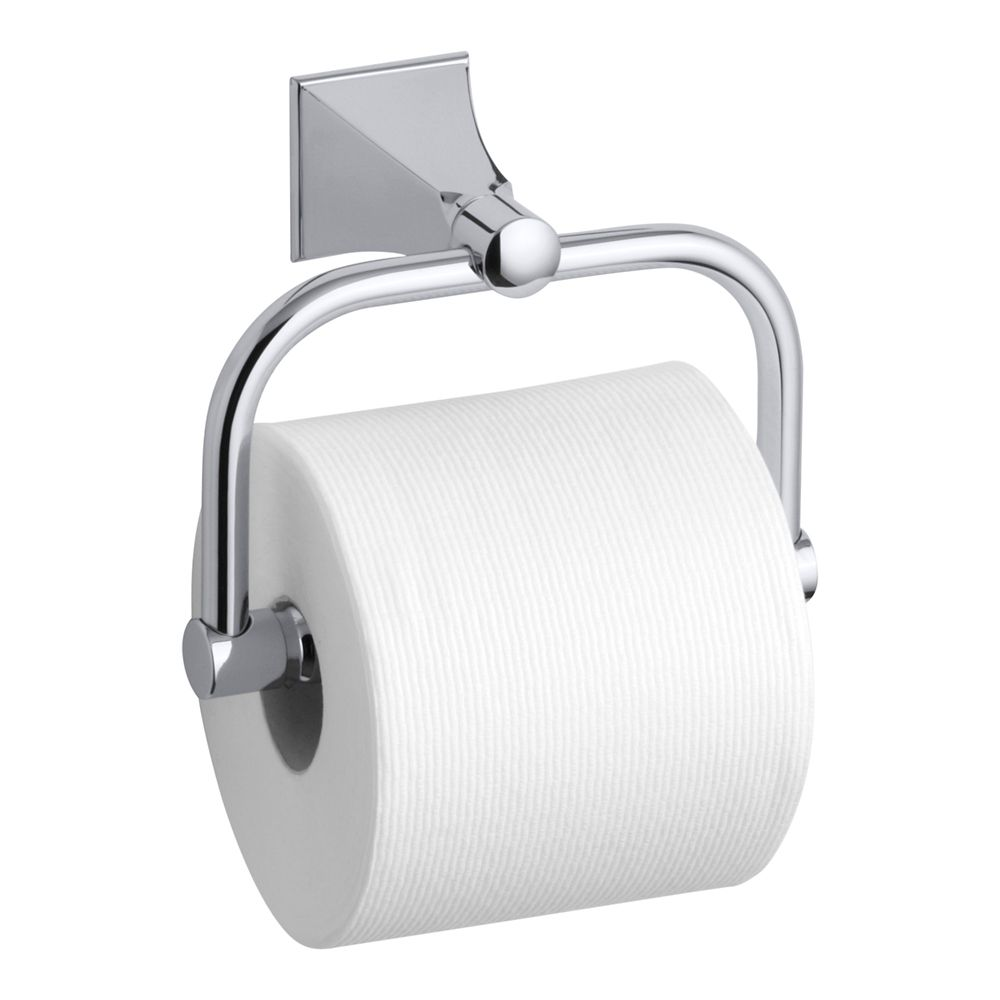 Memoirs(R) Toilet Tissue Holder With Stately Design in Polished Chrome