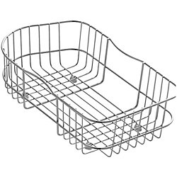 KOHLER Staccato(Tm) Wire Rinse Basket in Stainless Steel