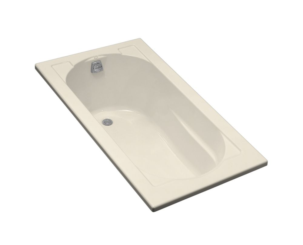 Devonshire Drop-in Bathtub in Almond