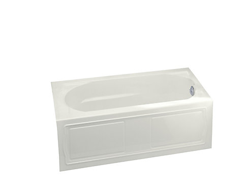 KOHLER Devonshire Bathtub with Right-Hand Drain in White | The Home ...