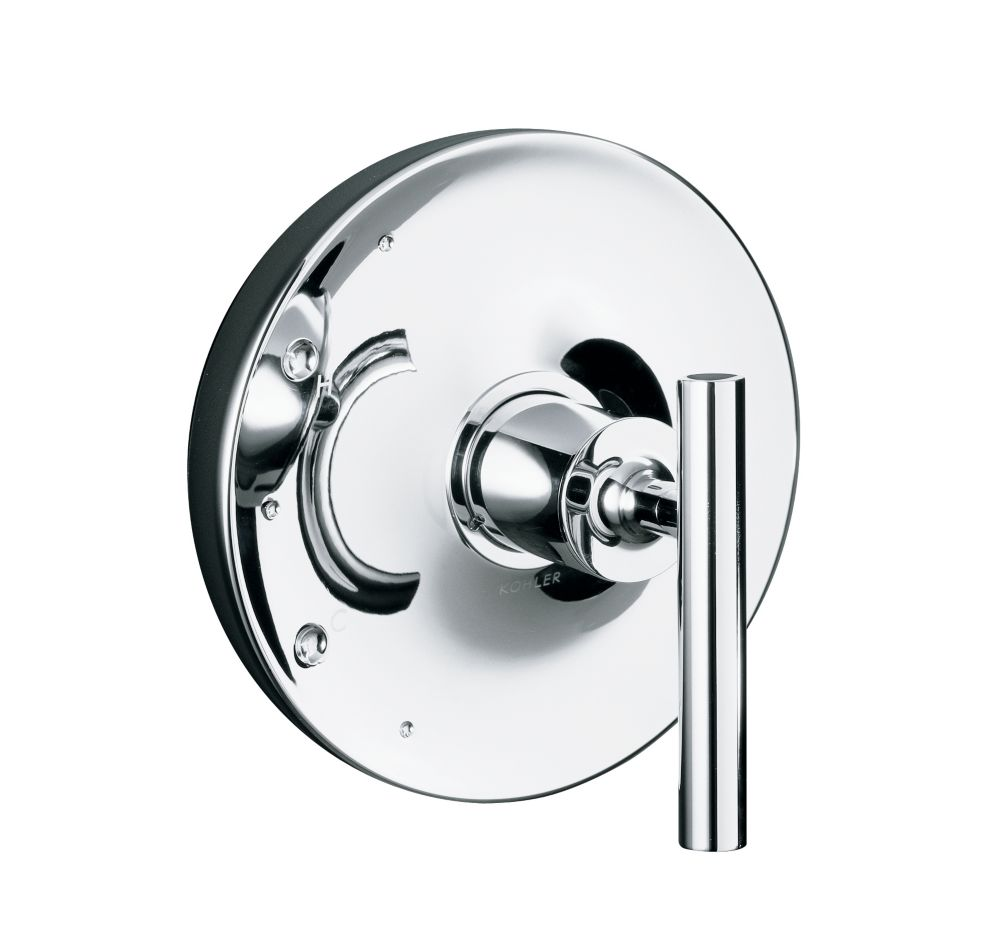 Purist Rite-Temp Valve Trim, Valve Not Included in Polished Chrome