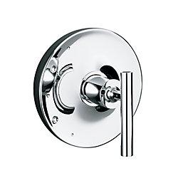 KOHLER Garniture de valve Purist(R) Rite-Temp(TM) avec poignée à levier