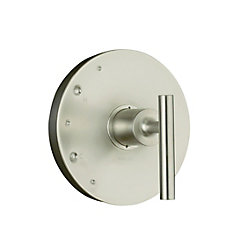 KOHLER Purist Rite-Temp Valve Trim, Valve Not Included in Vibrant Brushed Nickel