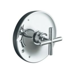 KOHLER Purist Rite-Temp Valve Trim, Valve Not Included in Polished Chrome