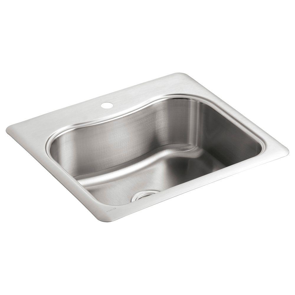 Staccato(Tm) Single-Basin Self-Rimming Kitchen Sink
